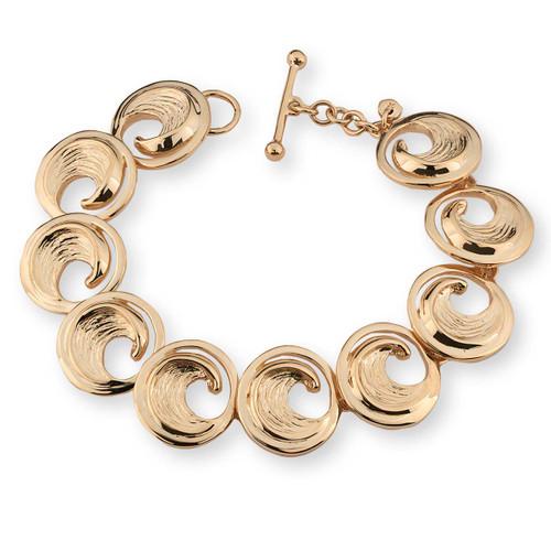 14kt Perfect Wave Bracelet
