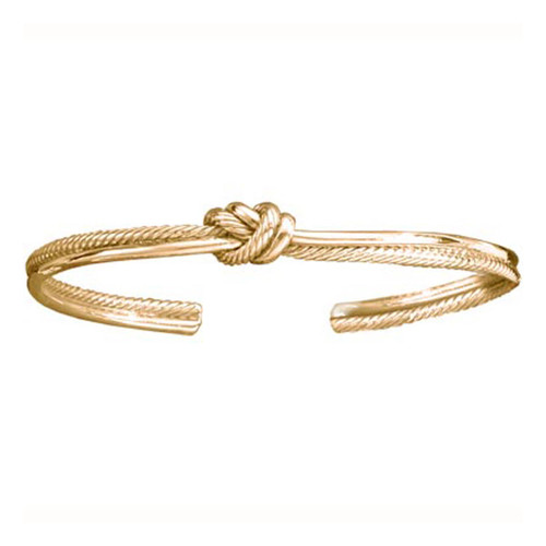 14kt Crew Knot Cuff Bracelet- Sale Price Below