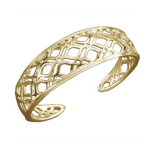14kt Persian Lace Cuff Bracelet