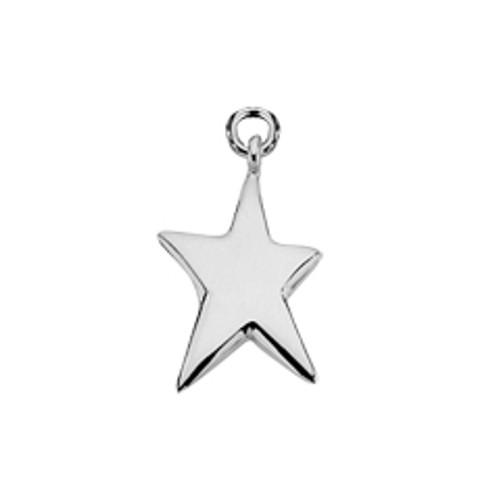 Sterling Silver Shining Star Charm