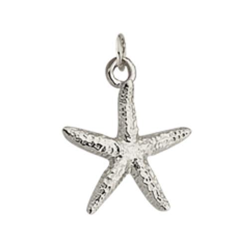 Sterling Silver Sea Star Charm