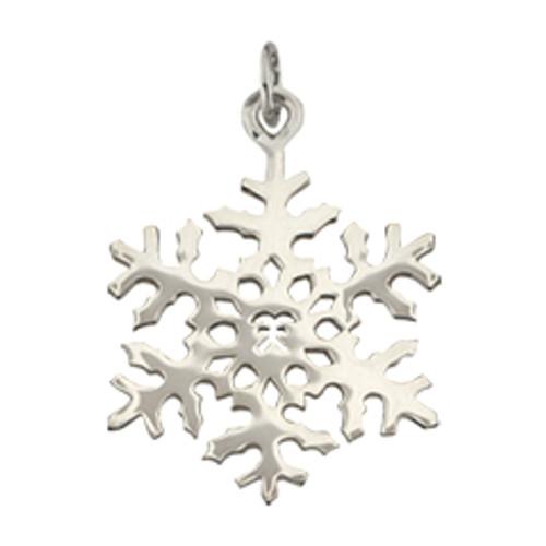Sterling Silver 2000 Snowflake Charm