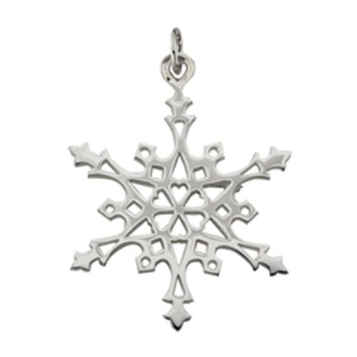 Sterling Silver 2004 Snowflake Charm