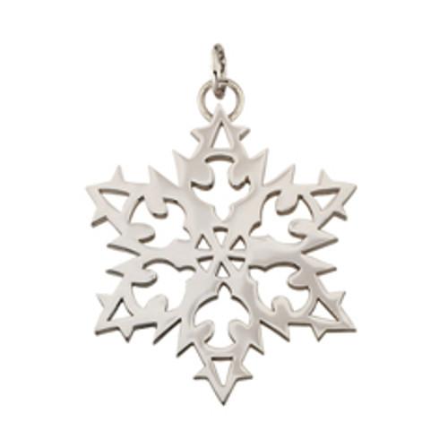 Sterling Silver 2007 Snowflake Charm