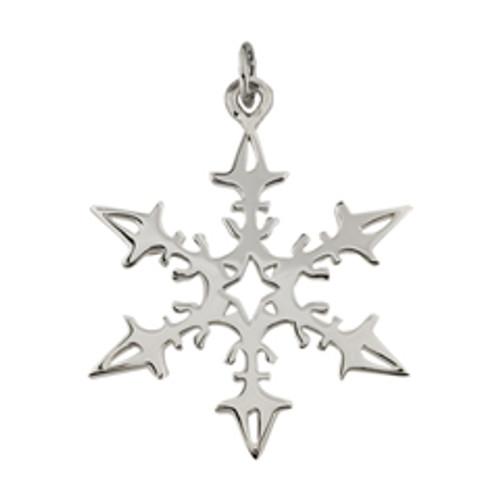 Sterling Silver 2008 Snowflake Charm