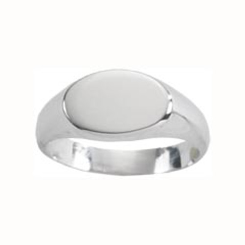 Sterling Silver Small Signet Ring
