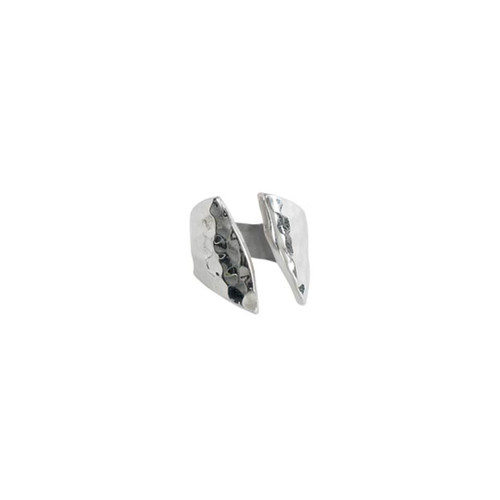 Sterling Silver Parallel Ring
