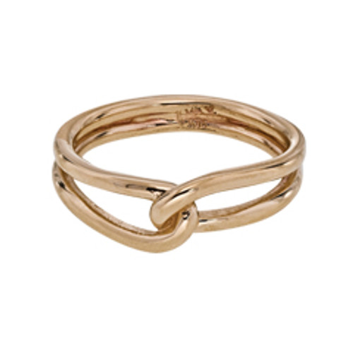 14kt Entwined Ring