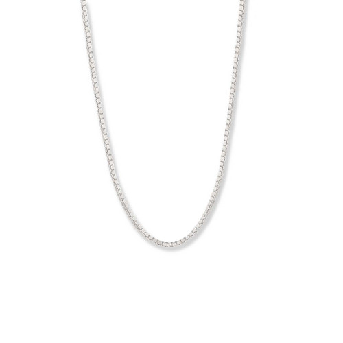 Sterling Silver,  1.2mm,  Heavy Box Chain