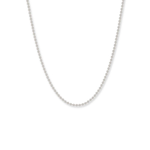 Sterling Silver,  1.5mm,  Bead Chain