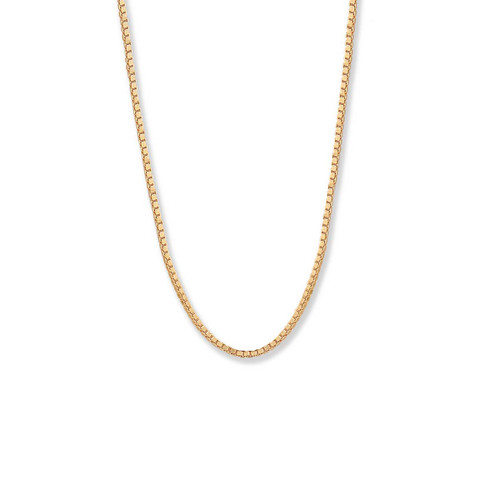 14kt Gold,  1.2mm,  Heavy Box Chain