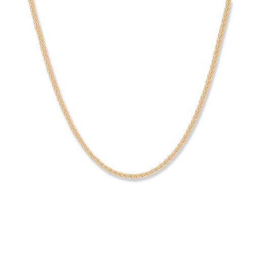 14kt Gold,  1.5 mm,  Spiga Chain