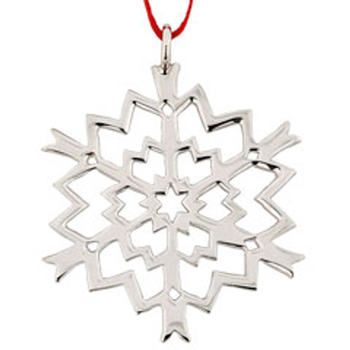 Sterling Silver 1999 Snowflake Ornament