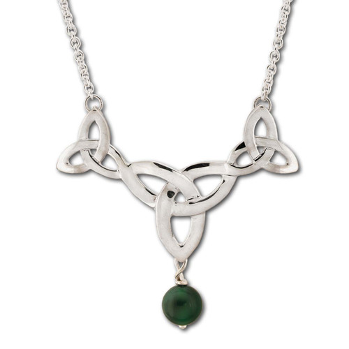 Sterling Silver Misty Isle Necklace