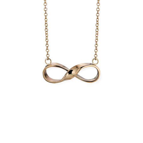INFINITY NECKLACE  14KT GOLD