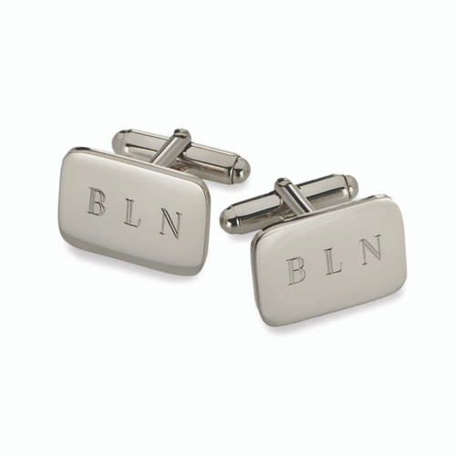 Sterling Silver Essential Cuff Links