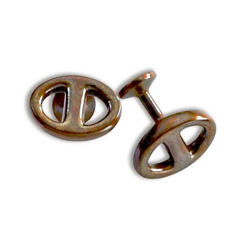 Bronze Mariner Cuff Links