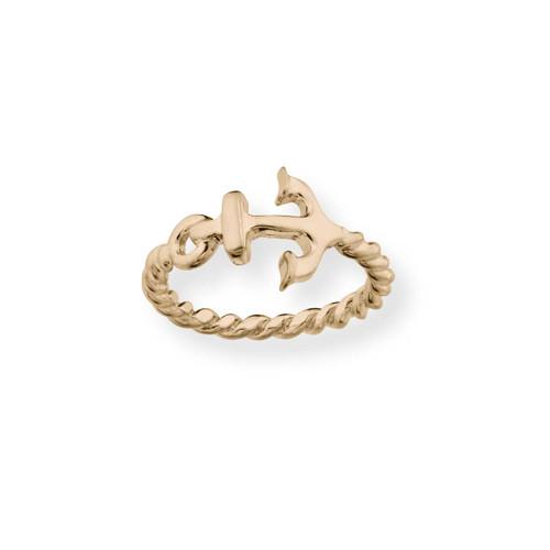 14kt  Anchor Ring