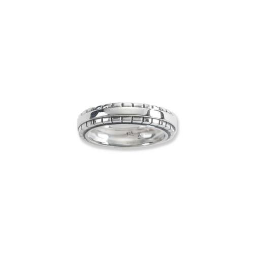 Sterling Silver Cobblestone Ring