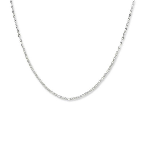 Sterling Silver  1.3mm Fine Cable Chain