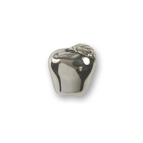 Sterling Silver Apple Pin