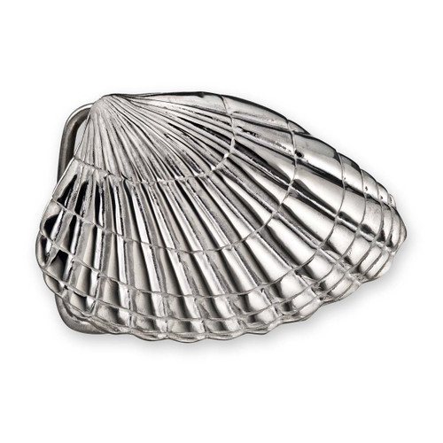 Sterling Silver Clamshell Buckle