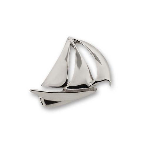 Sterling Silver Sailboat Pin