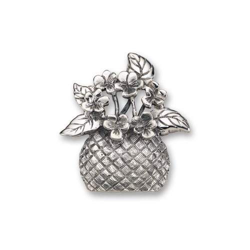 Sterling Silver Forget Me Not Pin