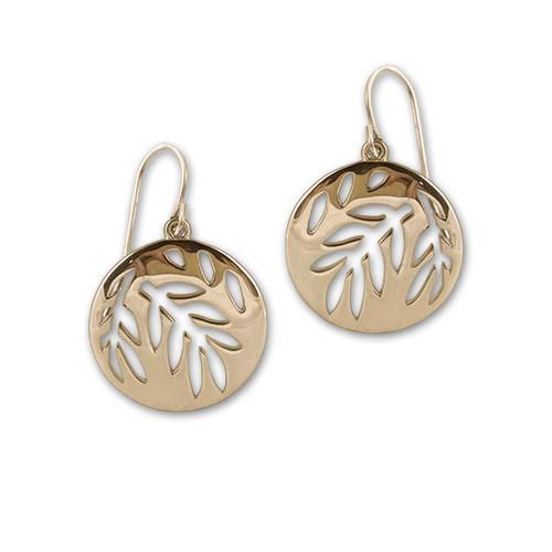 14kt Gold Summer Silhouette Earrings