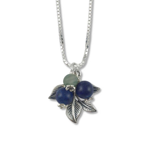 Sterling Silver Blueberry Hill Pendant