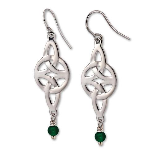 Sterling Silver Misty Isle Earrings