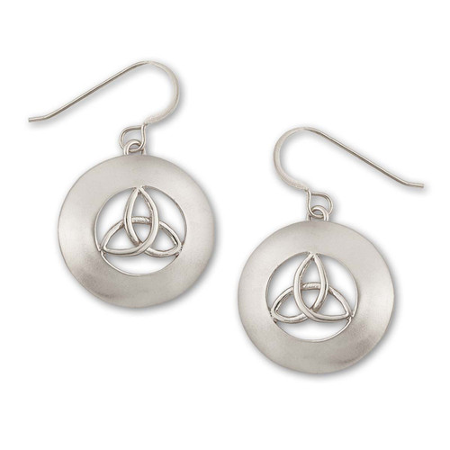 Sterling Silver Erin Earrings Contemporary Style