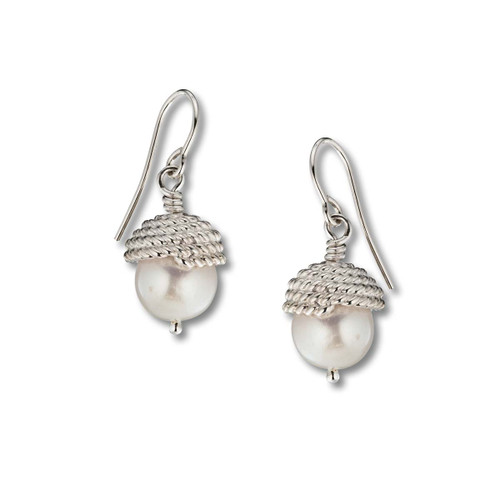Sterling Silver Enduring Grace Dangle Earrings