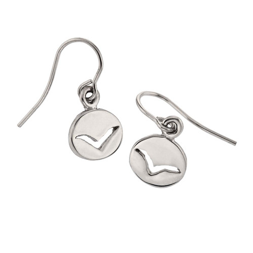 Sterling Silver Seagull Earrings
