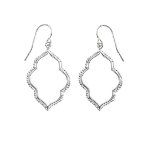 Sterling Silver Maroc Earrings
