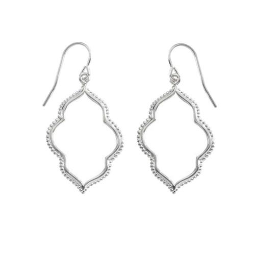 Sterling Silver Maroc Earrings adds a Bohemian touch to wardrobe