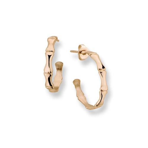 14kt Simple yet stylish Bamboo Earrings