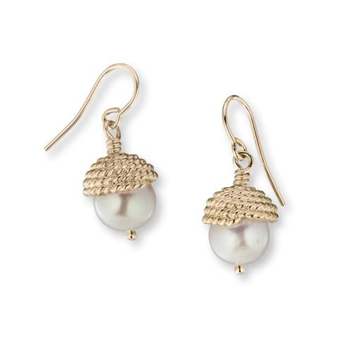 14kt Enduring Grace Dangle Earrings