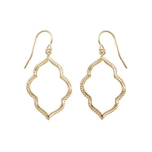 14kt Gold Maroc Earrings