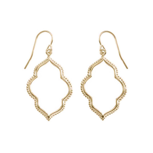 14kt Gold Maroc Earrings for a Bohemian Touch