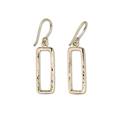 14kt Geo Earrings