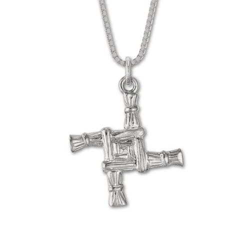 Sterling Silver Brigid's Cross Pendant jewelery