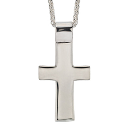 Sterling Silver Cross Pendant for Men