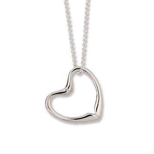 Sterling Silver Joan's Heart Pendant