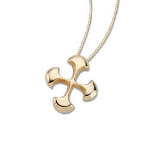 1970 's 14kt Celtic Cross Pendant