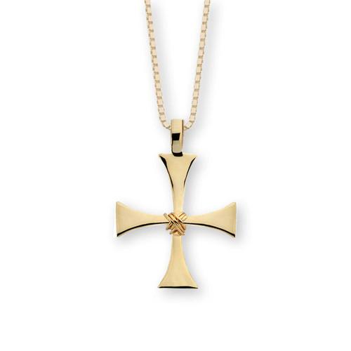 14kt Byzantine Cross