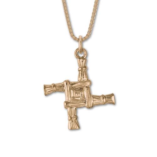 14kt St. Brigid's Cross Pendant