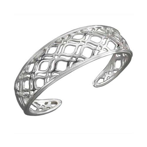 Sterling Silver Persian Lace Cuff