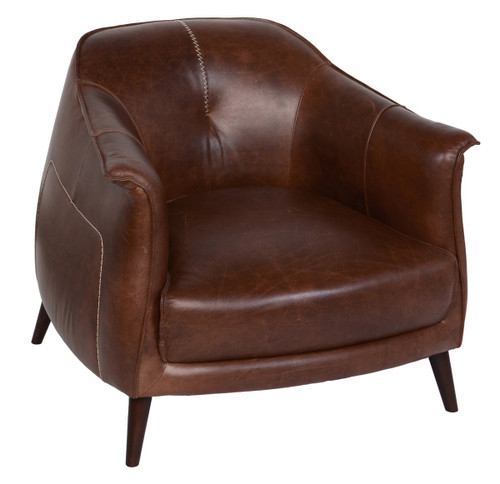 16627 Club Leather Chair