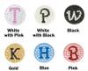 Bonjoc Monogram Swarovski Crystal Ball Marker